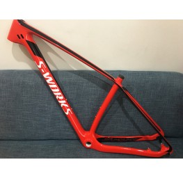 Mountain Bike Specialized S-works Carbon Bicycle Frame 29.5er