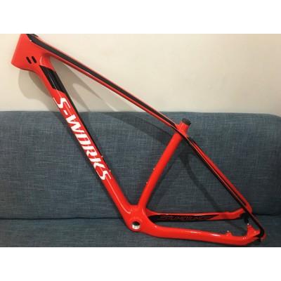 Mountain Bike Specialized S-works Carbon Bicycle Frame 29.5er-MTB & Mountain Bike Frame