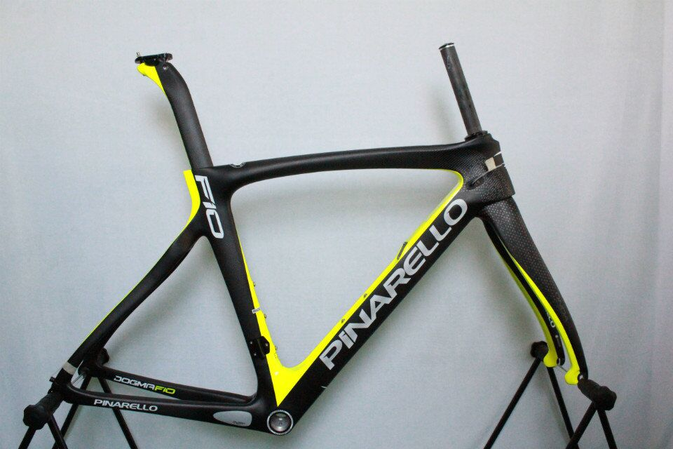 Pinarello Dogma F10 Carbon Road Bike Frame 168 Sulfur