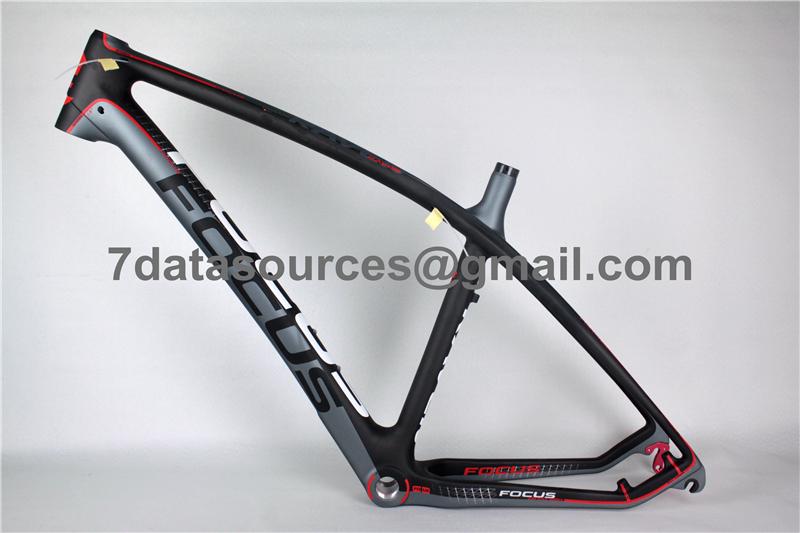 Mountain Bike Focus Mtb Carbon Bicycle Frame Red