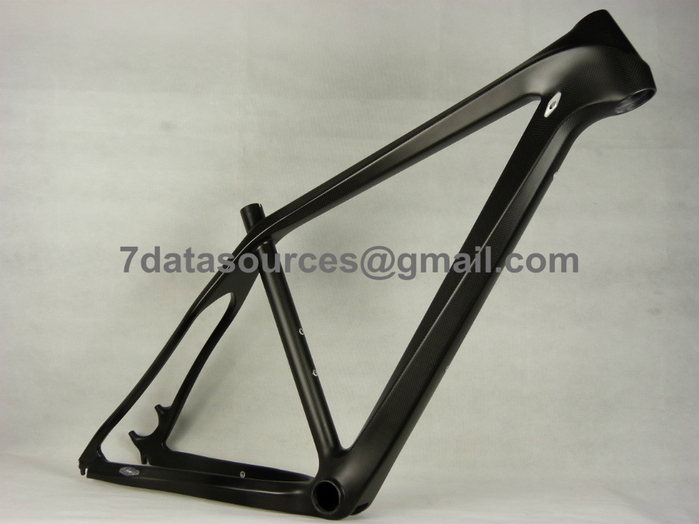 OEM & Paint Customized MTB Mountain Bike Bicycle Carbon Frame No Decals