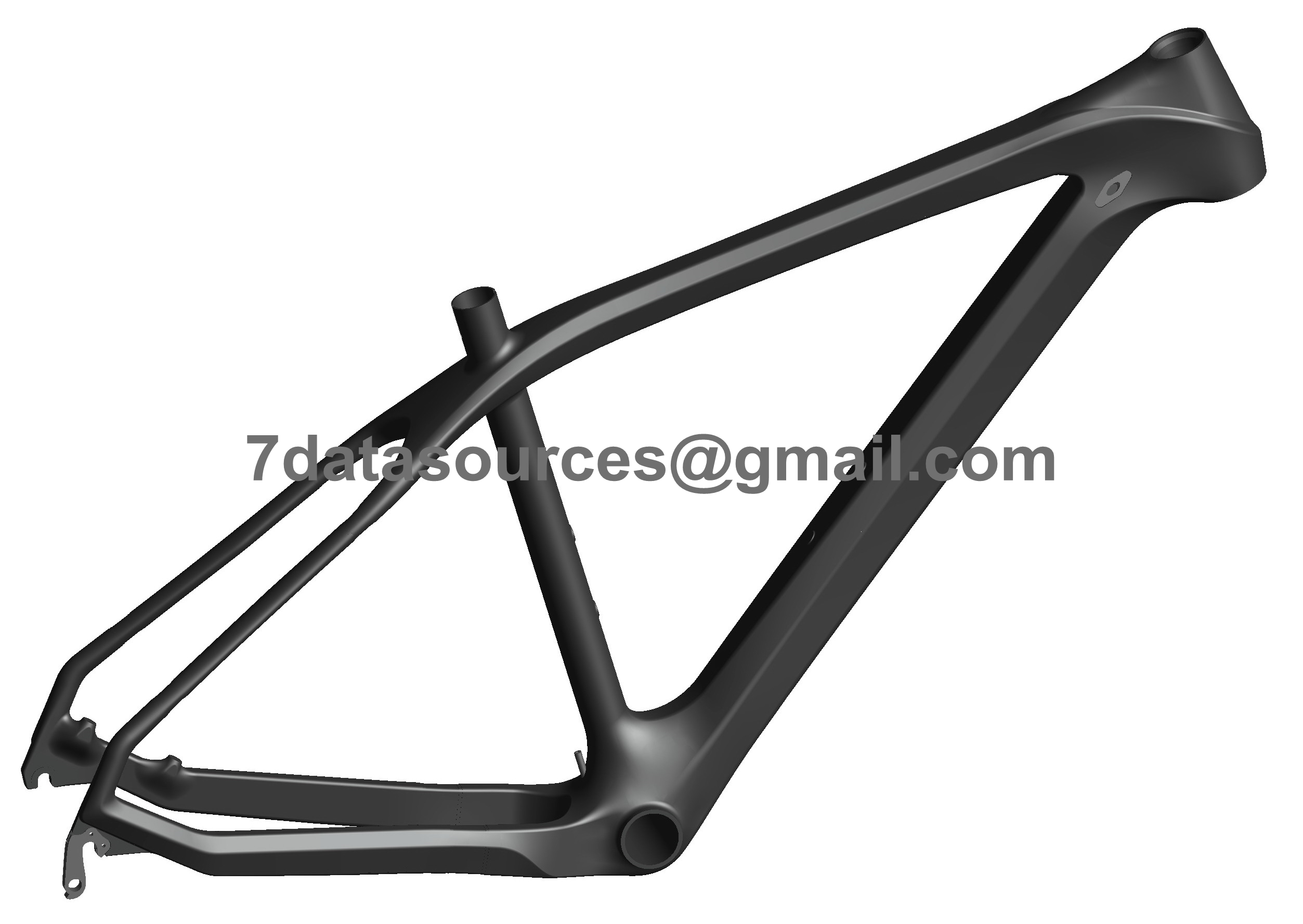 oem paint customized mtb mountain bike bicycle carbon frame no decals