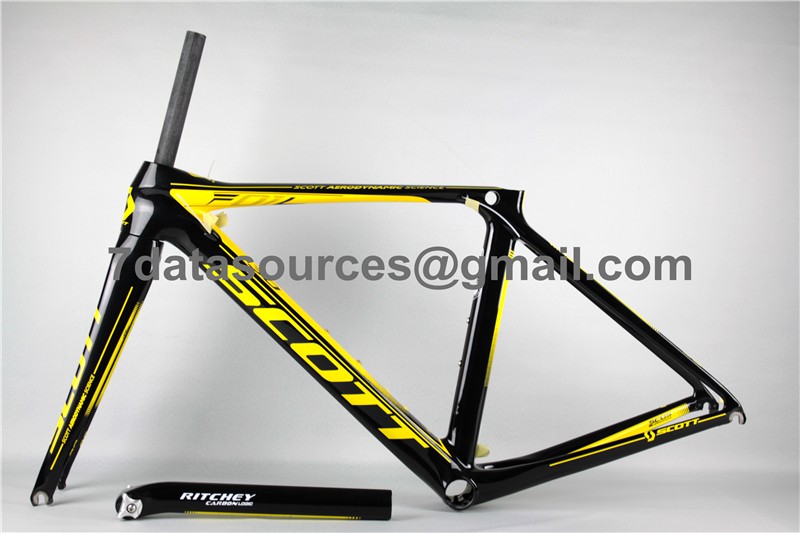 shining style for scott carbon fiber road bike bicycle frame