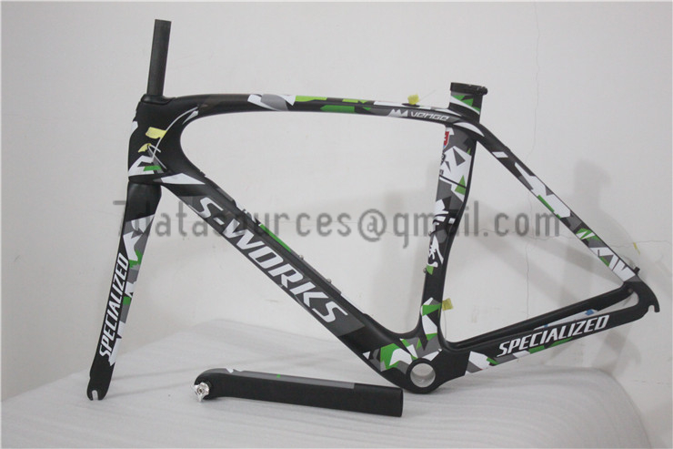 Specialized Road Bike S-works Bicycle Carbon Frame Venge camouflage